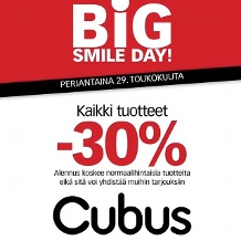 Cubus Big Smile Day 29.5.